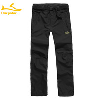 Onepolar outdoor polar 2011 autumn and winter outdoor trousers Men water-proof and free breathing outdoor trousers male