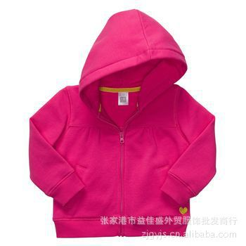 Carter the carter's cotton terry official website latest zipper shirt sweater children coat