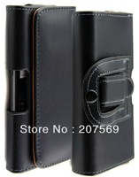 Holster Belt Clip Leather Pouch Case for Samsung Galaxy s4 i9500 Free shipping