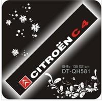 Citroen c4 reflective car stickers front stop stickers carinthian car sticker