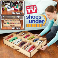 12 transparent shoe storage flavor storage shoe box home storage box