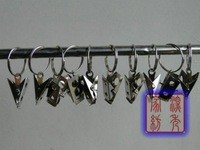 New fashion High quality Curtain accessories curtain clip Stainless Steel small clips for curtains