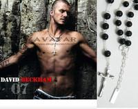 Jesus Necklace Beckham Silver Cross Necklace Rhinestone Cross Pendants Cross Of Jesus Mens Necklace Fashion