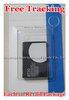 Free Tracking New Original BT50 Mobile Phone Battery for Motorola A1200 A1200r W233 A1208 A732 A810 E2 E11 EX128 K1m K3