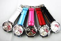 dhl Free shipping 200PCS/Lot wholesale Hello kitty kids watches ,kitty watch quartz,kitty watch rhinestone
