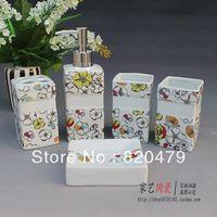 Clean bathroom ceramic bathroom set bathroom supplies set