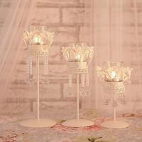 decorative wedding candle holders,crystal candlestick,free shipping,crystal candle holder