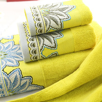 3pcs/set 100% jacquard cotton  kit set Cotton  Bath towel:69*132cm Face towel:41*71cm   Hand Towel:30x45cm