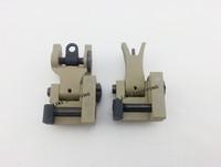 New Type INDUSTRIES FRONT & REAR FOLDING SIGHT COMBO DE