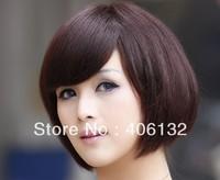 hot sale 100% human hair,short human hair wigs, human hair short wig,BOBO STYLE wigs,beautiful human hair wigs,short wigs,