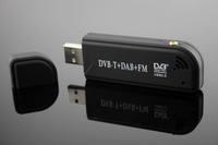 USB DVB-T USB  tv receiver Support FM&DAB&SDR With RTL2832+R820T Free Shipping
