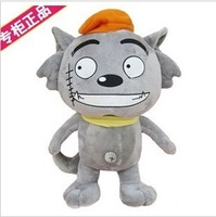 Plush toy wolf doll birthday gift girls