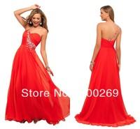 2013 Wholescale Price Chiffon Sweetheart Crystal Prom Dress--MG228
