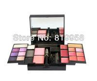 Free Shipping!! 23 Color Eyeshadow Blush Lip Gloss Eye Liner Pencil Brush Makeup Palette 02#