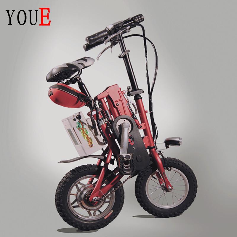 12 folding electric bicycle 36v lithium battery 250w motor(China (Mainland))