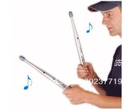one set Rhythm Sticks Electronic Drum Sticks Air drumstick Novelty toy personal Gift