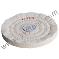 "Free Shipping !!  white buffing whees 6"" X50 , Polishing buffing wheels , Jewelry polishing tools"