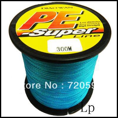 PE DYNEEMA BRAID FISHING LINE 20LB 300M 0.20MM #PL(China (Mainland))