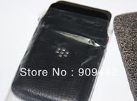 New Leather Case Pouch for Blackberry Z10 Black 100PCS /LOT