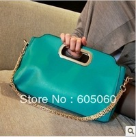 2013 summer female fashion multicolour handbag messenger bag candy women's shiny handbags,wholesale