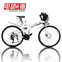 26 disc electric mountain bike folding electric bicycle electric bicycle car battery c b