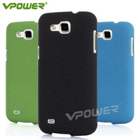 Vpower Quicksand For Samsung GALAXY Premier i9260 dull polish PC case,with free Screen protector,Blue,Black,Green Free shipping