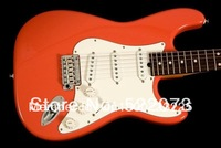 best Musical Instruments Fiesta Red Electric Guitar Pro Series  Free Shipping!!!!!