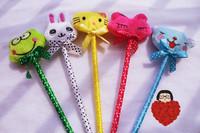 Birthday gift stationery prize plush toy ballpoint pen cartoon pen