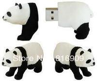 Free Shipping Panda USB Disk Flash Memory Drive 1GB-32GB High Speed