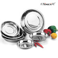 Stainless steel kitchen utensils deep dish plate(China (Mainland))