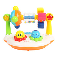 Sunny music desktop gym rack/ around music baby toy/ gym rack /free shipping