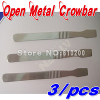 Free shipping 3/pcs Scraping tin pulp scraper  Tablet computer pry shell metal open shell tools Pry Shell Crowbar
