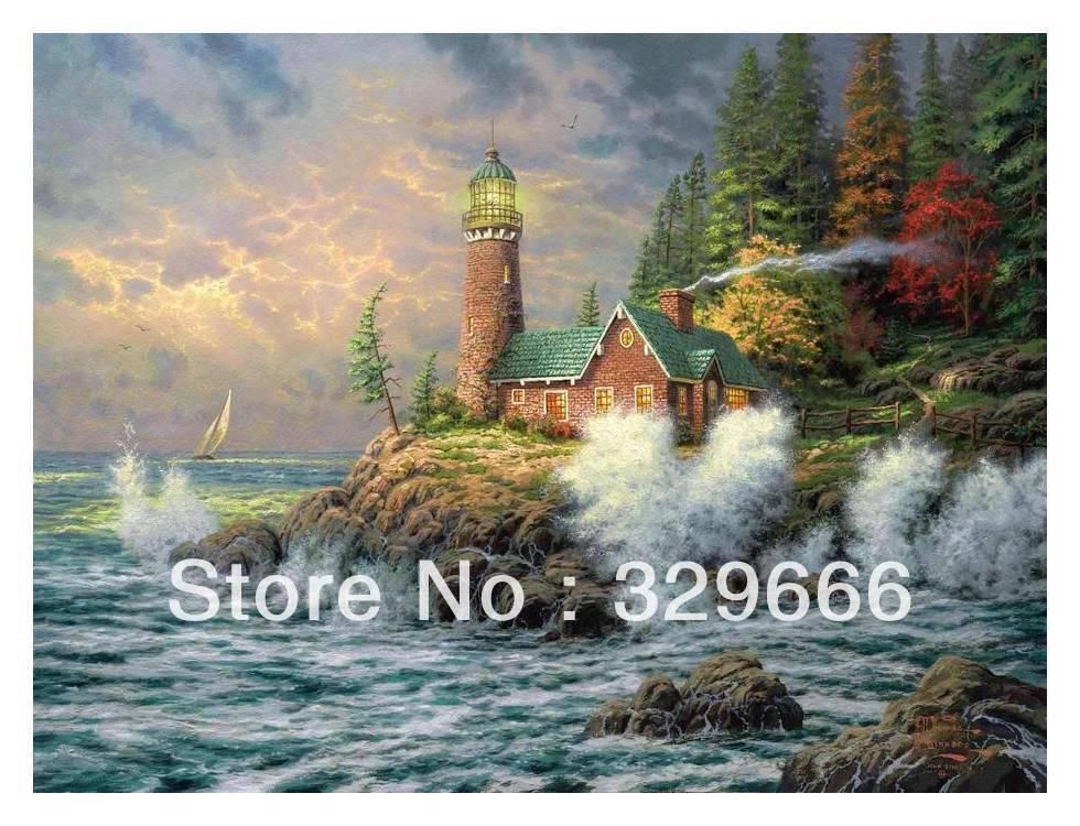 Kinkade Paintings Canvas Canvas Thomas Kinkade Nice