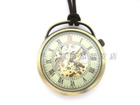 2014 Fashion stem-winder Vintage Large bronze color mechanical watch rahb818b Free shipping