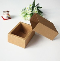 Free shipping wholesale100pcs/lot DIY Drawer Kraft Packaging Paper Box 10.8*7.8*4.2CM