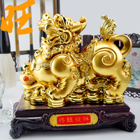 Prosperoous pi xiu decoration a pair of Large lucky brave opening gifts Large