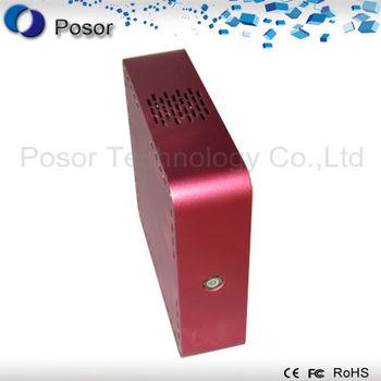Factory outlets: super power mini laptop pc desktop pc aluminum shell computer 52C-3 :CPU D525 Dual core 1.8GHz/RAM 2GB/SSD 32GB