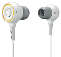 HOT SALE! SHE6001 In-Ear Surround Sound Headphones (White)