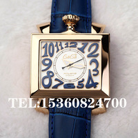 Gaga fashion square automatic mechanical watch big dial watch unisex table fashion 179 g1