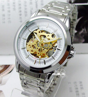 Byino automatic mechanical male table cutout watch 021