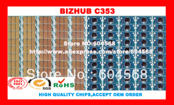 Free shipping!Compatible Konica Minolta Bizhub C353 imaging unit drum chip,K/C/M/Y,20PCS/LOT! High quality!(China (Mainland))