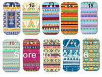 New Aztec Tribal Tribe Pattern Retro Vintage hard back case cover skin for SAMSUNG GALAXY S3 SIII i9300 free shipping 10pcs/lot