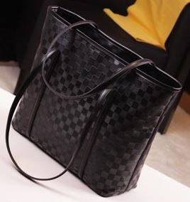 2013 genuine leather handbags women's cheap famous brands with rivet fashion purse evening high qualit grid tote cllutches bag(China (Mainland))