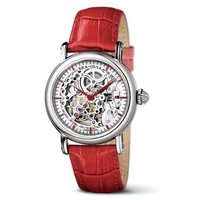 Seagull seagull m182sk red belt red needles fully-automatic mechanical cutout watch lovers design