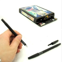 Classical Toys Box Package Magic Pen Through Money stage Magic Tricks Props Adult's/Children's Gift Toys(China (Mainland))