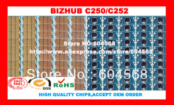 Free shipping!Compatible Konica Minolta Bizhub C250 C252 imaging unit drum chip,K/C/M/Y,20PCS/LOT! High quality!(China (Mainland))