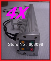 4pcs 36X1W LED RGB Wash Light 36W DMX Stage Lighting Waterproof IP65 Wall Washer Free shipping