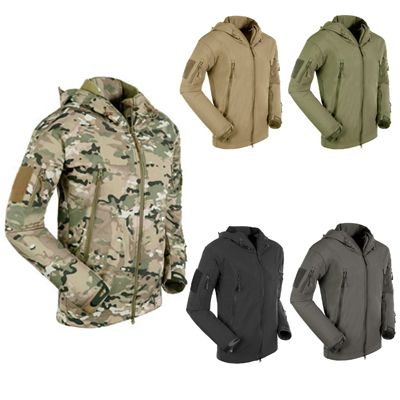 Top QualityTAD Style Military Outdoor Sports Jacket Soft Hard Shell Windproof Jacket Coat Free Shipping(China (Mainland))