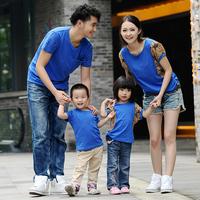 2013 summer short-sleeve T-shirt family fashion brief family pack the tendrils st-smh