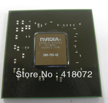 NEW & ORIGINAL NVIDIA computer bga chipset G86-703-A2 G86 703 A2 graphic IC chips